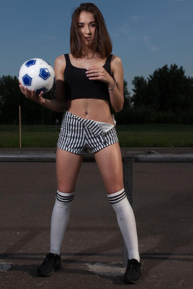 фотосессия с мячом