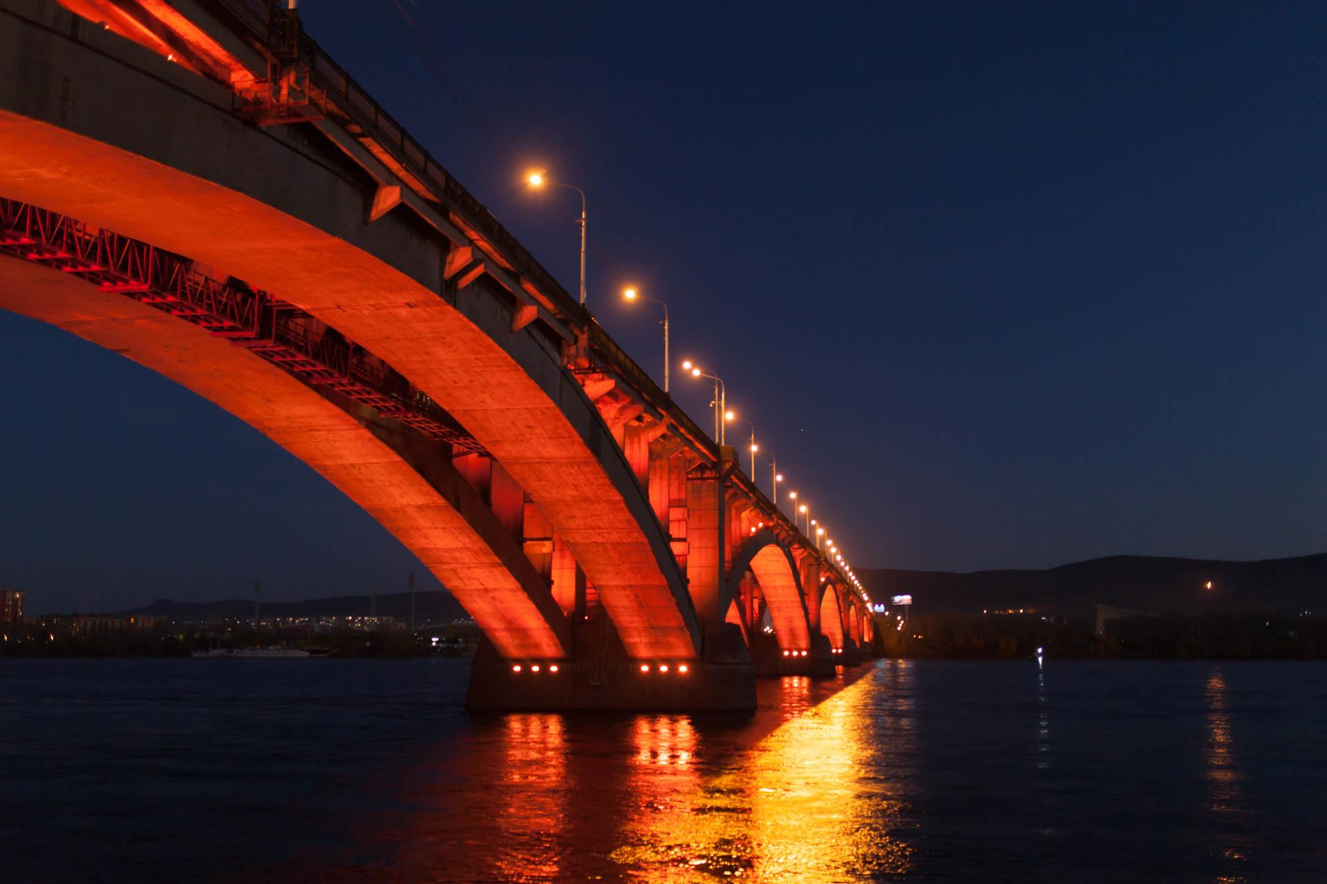 коммунальный мост Красноярск