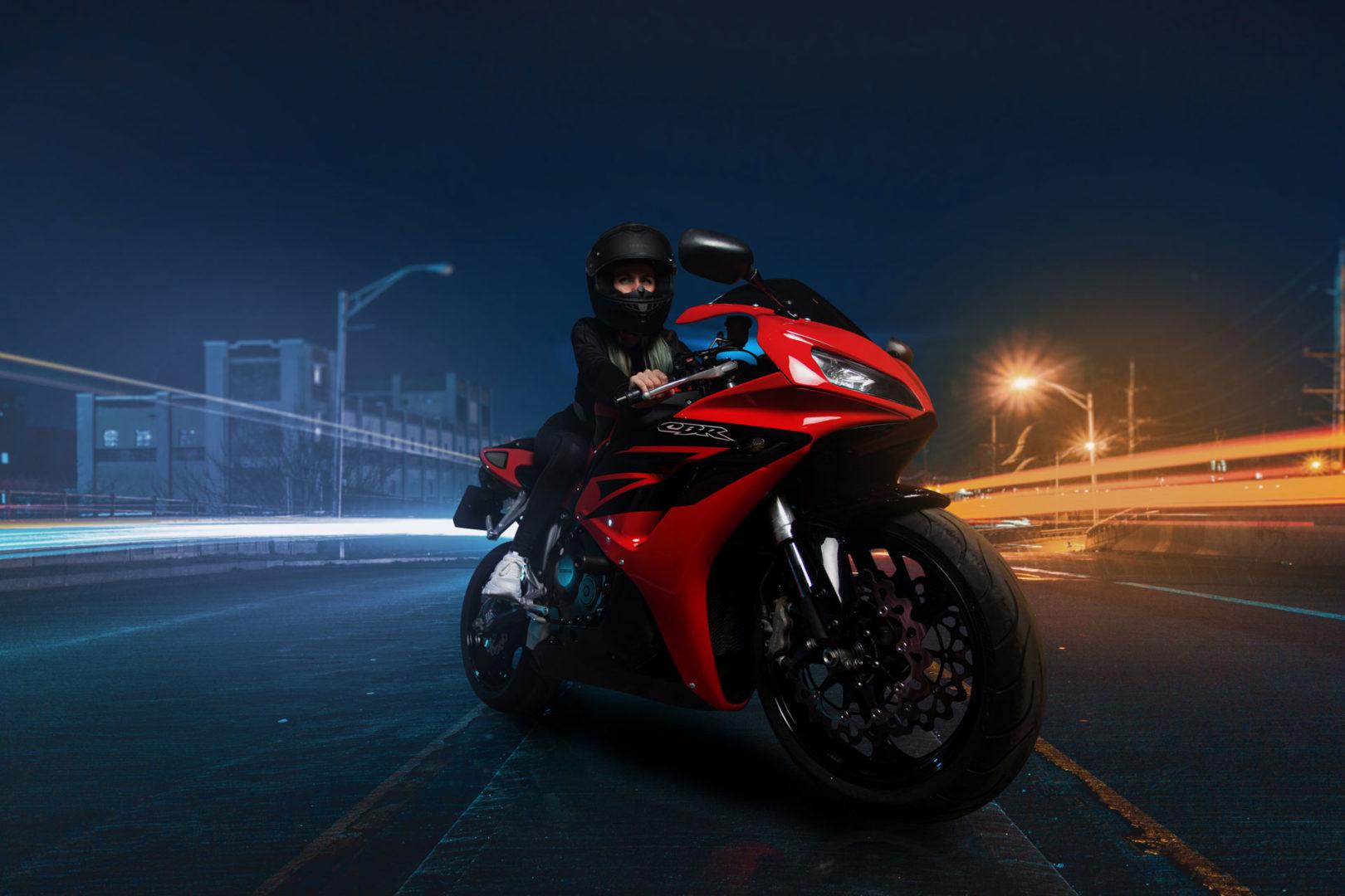 Фотосессия мотоцикл Красноярск